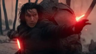 Kylo Ren in tar Wars: The Rise of Skywalker