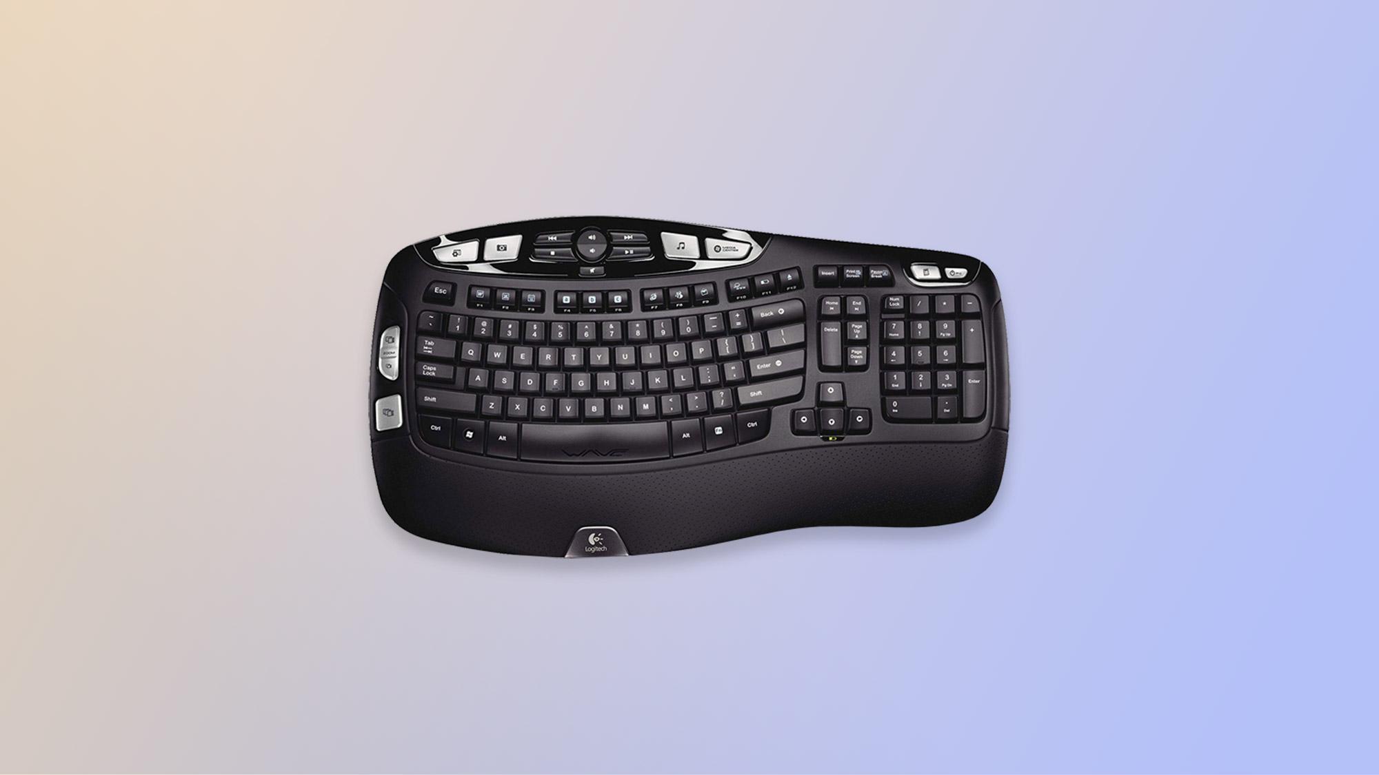 El mejor teclado: Logitech K350