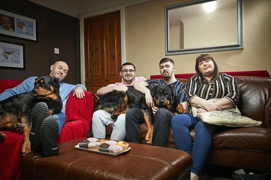 The Malones in Gogglebox