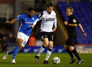 Birmingham City v Derby County – Sky Bet Championship – St Andrew's Trillion Trophy Stadium