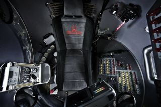 Interior of Red Bull Stratos Capsule