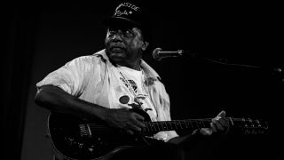 The Blues singer R.L. Burnside performs live at the North Sea Jazz Festival on July 11 1997