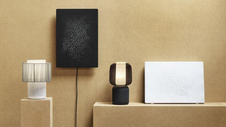 IKEA SYMFONISK lamps