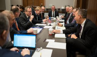 Space Agencies and Private Industry Discuss Making a Giant Leap on Collaboration