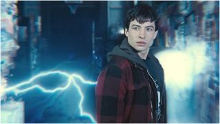 The Flash in Zack Snyder's Justice League