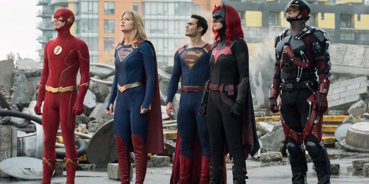 Arrow-verse Crisis On Infinite Earths The CW