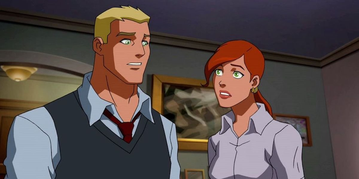Barry Allen and Iris West in Young Justice