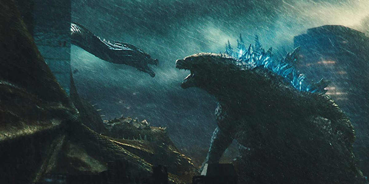 Ghidorah and Godzilla in Godzilla: King of the Monsters
