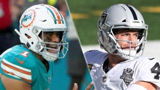 Dolphins vs Raiders live stream
