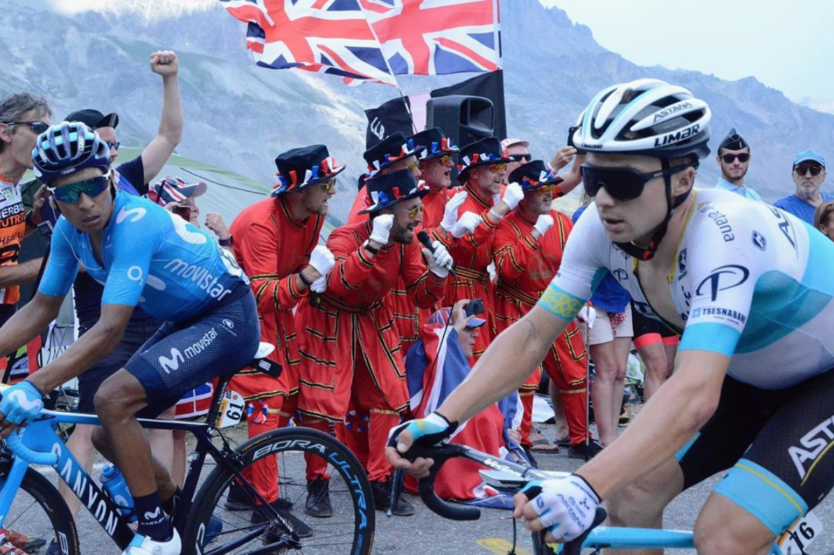 Meet the Tour de France Beefeaters, Britain's most viral cycling fans