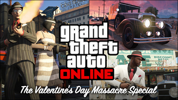 GTA 5 Valentine's Day DLC
