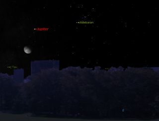 Oct. 4 Sky Chart