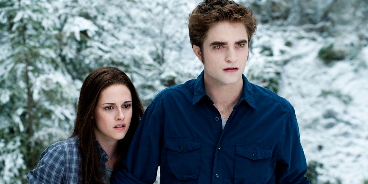Bella and Edward are concerned in Twilight: Eclipse
