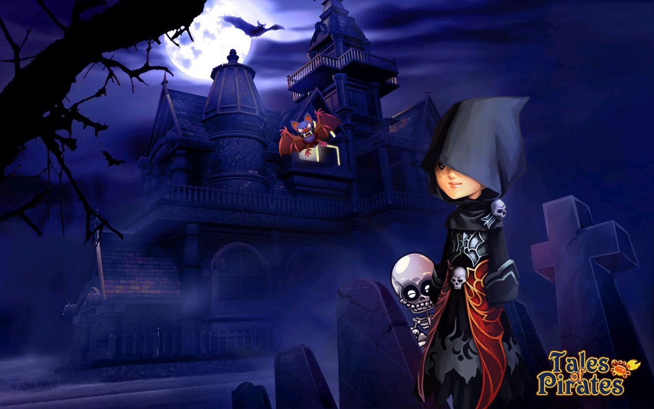 IGG Releases Tales Of Pirates Halloween Wallpapers  #10071
