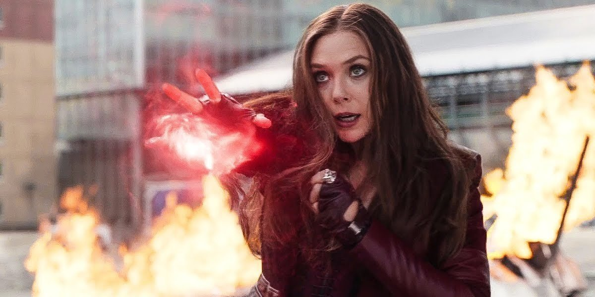 Elizabeth Olson as the Scarlet Witch