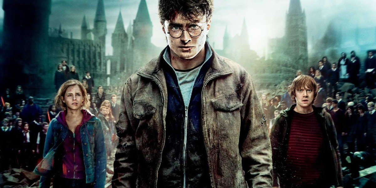 Harry Potter and the Death Hallows Part 2 with Rupert Grint, Emma Watson, and Daniel Radcliffe