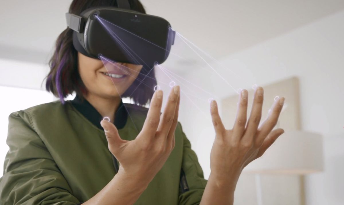 Oculus Quest is about to feel like the future with controller-free games