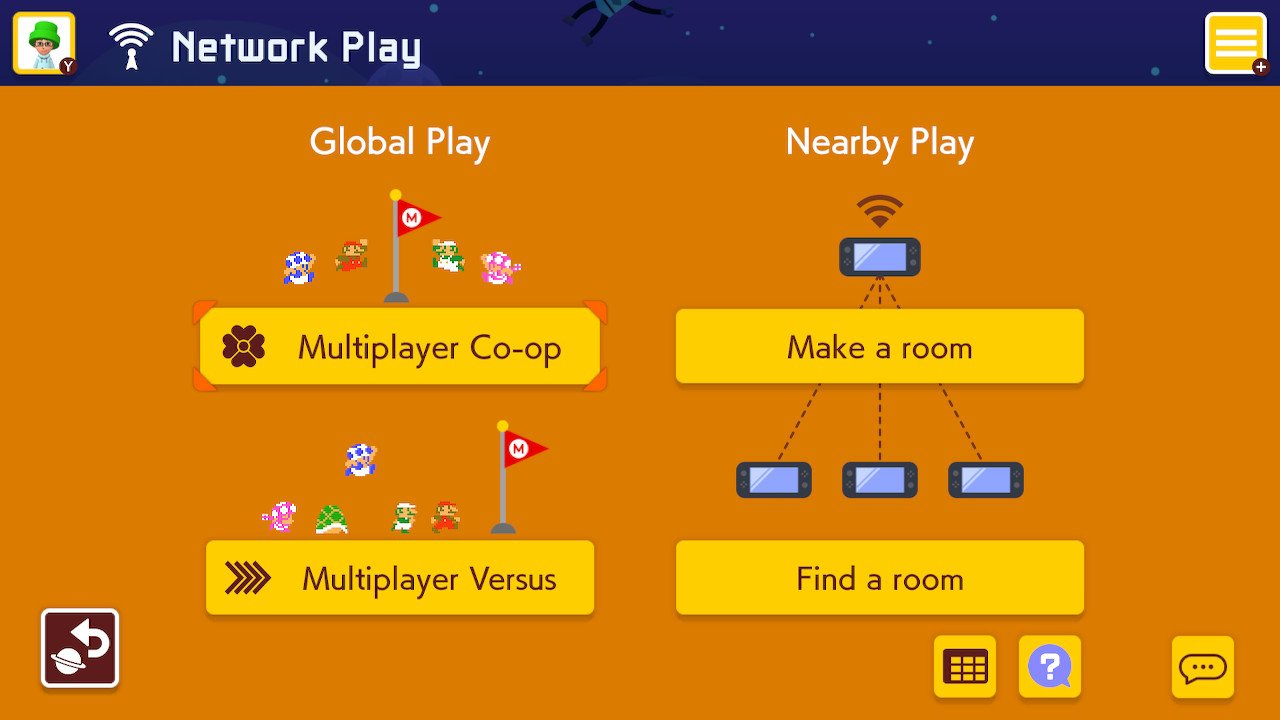 Super Mario Maker 2 Two Player Mode How To Play Co Op And