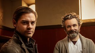 Tom Payne and Martin Sheen in 'Prodigal Son'