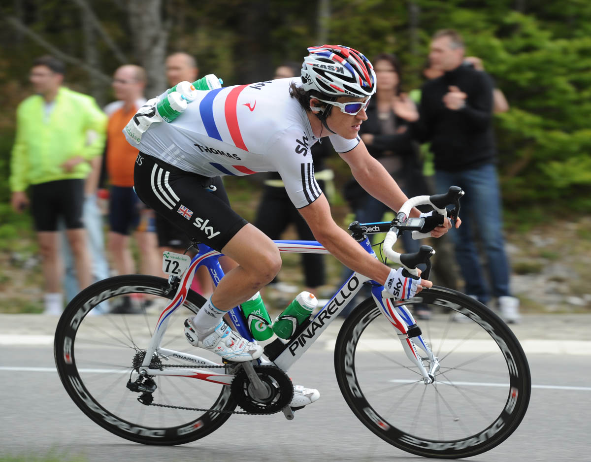 Geraint Thomas, Tour de Romandie 2011, stage five