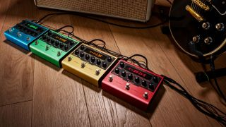 IK Multimedia X-GEAR guitar pedals