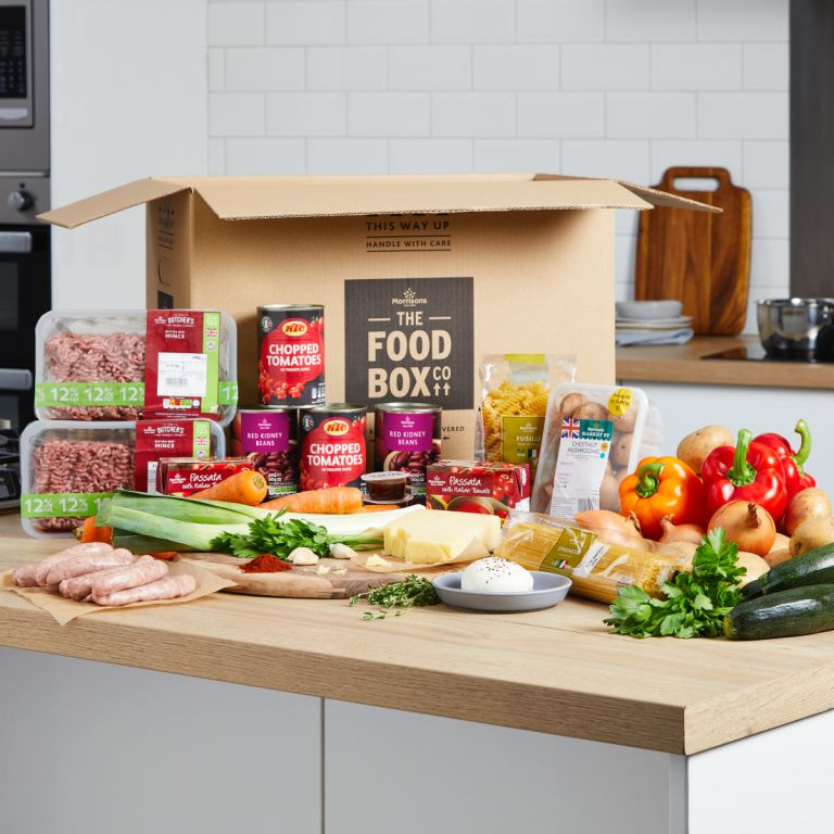 Morrisons family recipe box