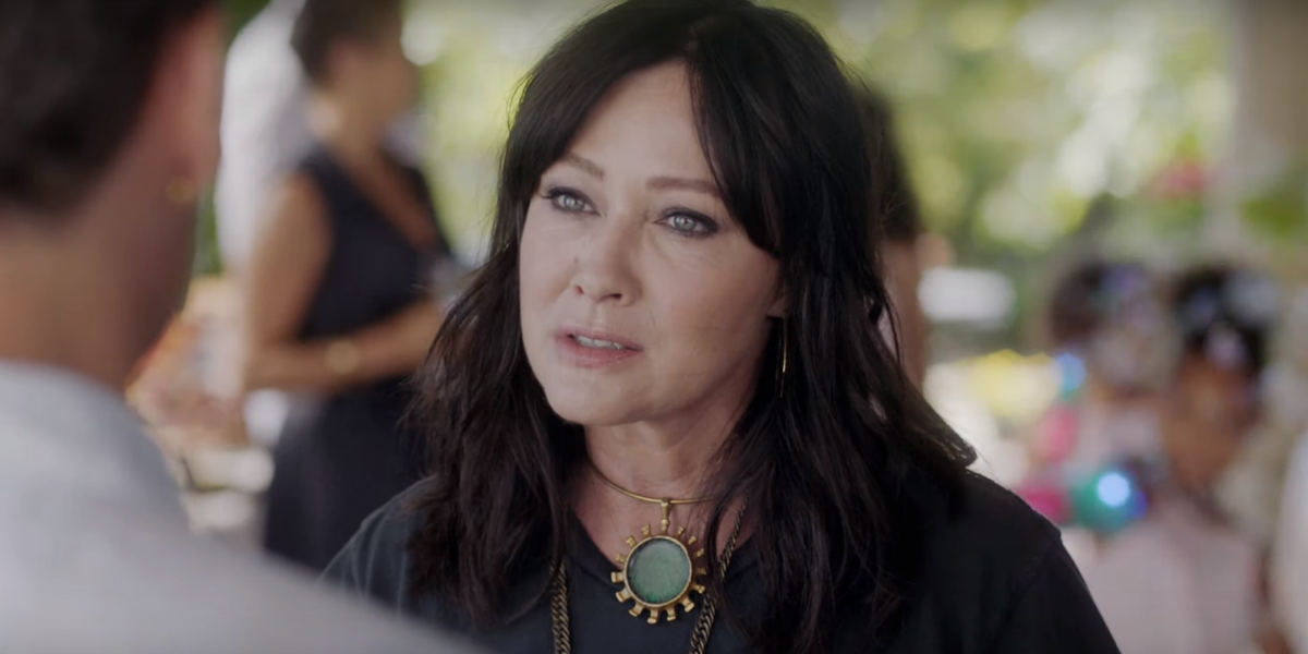 Shannen Doherty Only Decided To Do BH90210 After Luke Perry's Death
