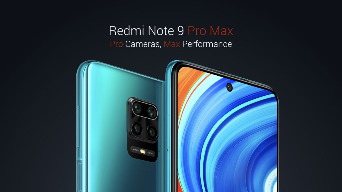 Redmi Note 9 Pro Max is a new Xiaomi phone with 64MP camera and low price