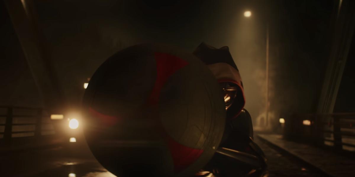 Taskmaster and his shield
