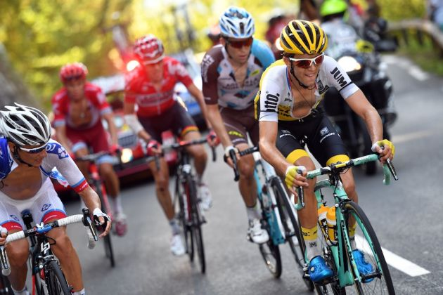 George Bennett escapes on stage 14 of the 2016 Vuelta a EspaÒa