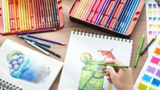 Best coloured pencils: Arteza