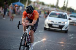 Colin Joyce at the Vuelta a San Juan time trial