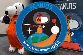 peanuts snoopy nasa comic con