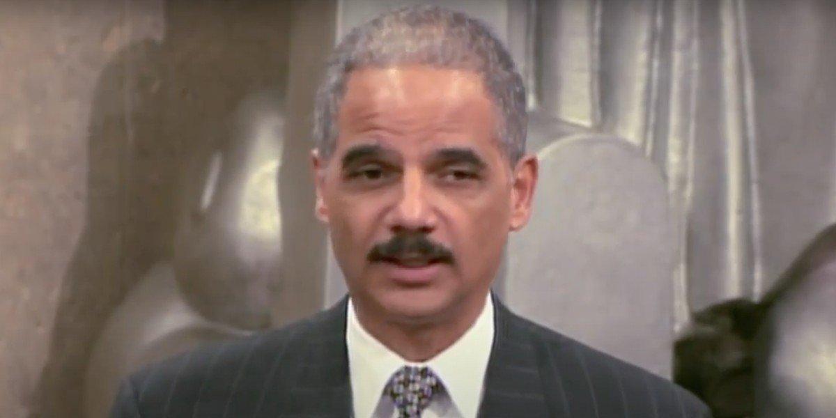 Eric Holder on CBS News