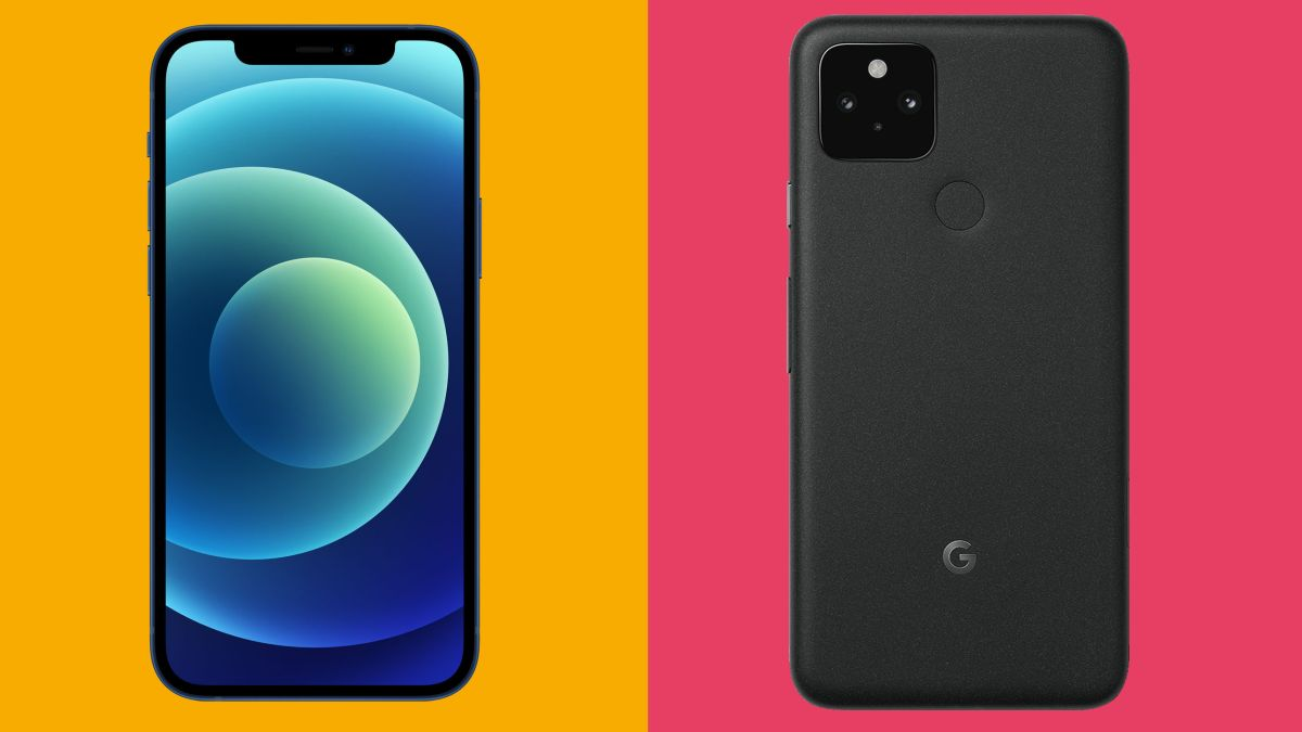 iPhone 12 vs Google Pixel 5: two bids for smartphone supremacy