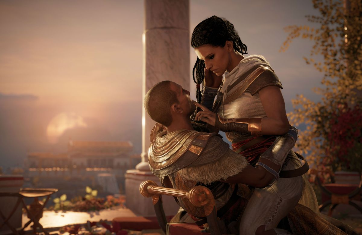 The NPCs in Assassin's Creed: Origins are more goal-orientated than most of us will ever be