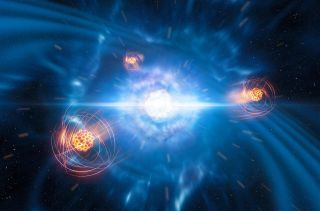 Researchers have found signatures of strontium in the aftermath of a neutron star merger.