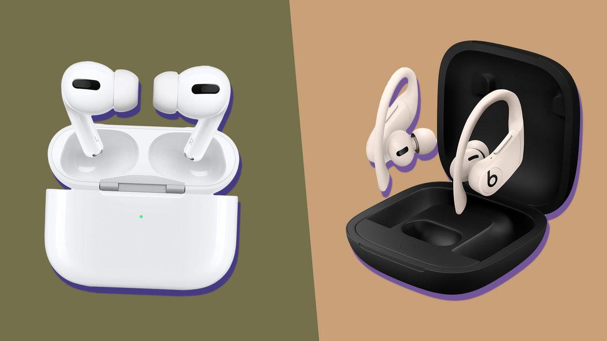 AirPods Pro vs Beats Powerbeats Pro: Apple's true wireless earbuds do battle