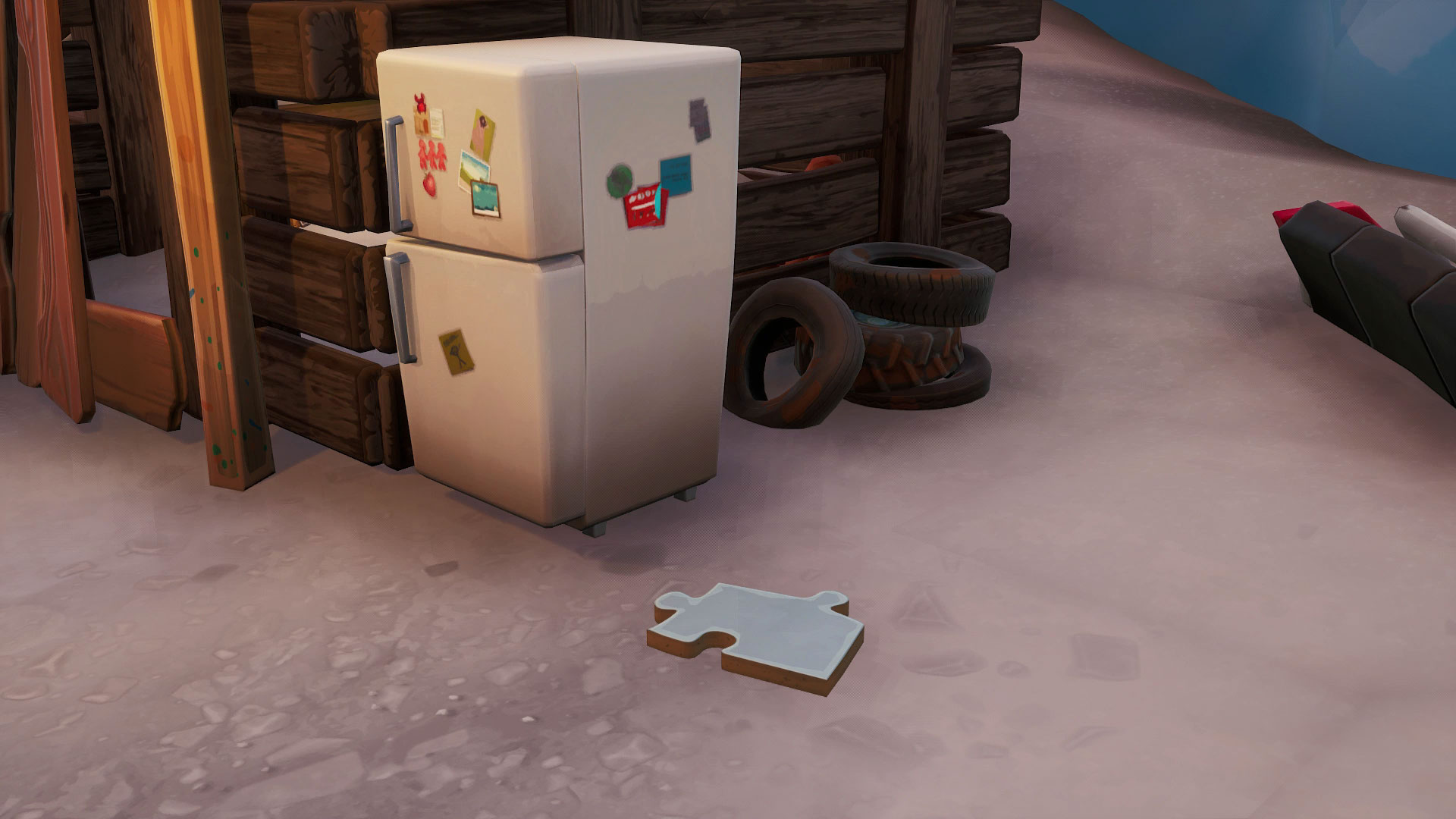 Where to find all of the Fortnite Jigsaw Puzzle Pieces under
