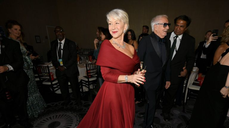 Helen Mirren attends the 77th Annual Golden Globe Awards Cocktail Reception at The Beverly Hilton Hotel on January 05, 2020 in Beverly Hills, California.