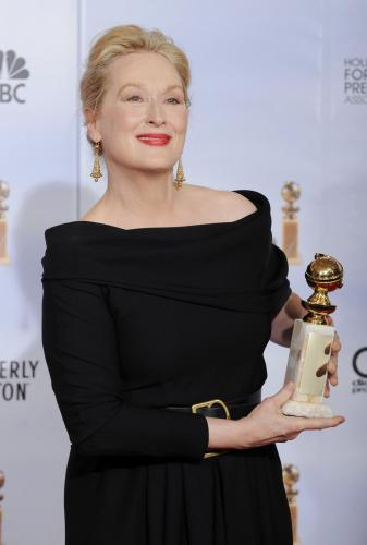 Meryl Streep at 2010 Golden Globes