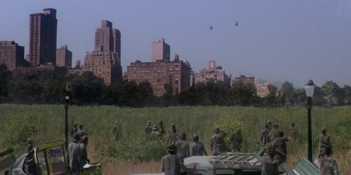 The Central Park scene in Escape From New York