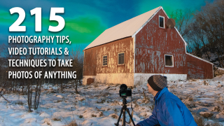 215 photography tips, video tutorials and techniques to take photos of anything
