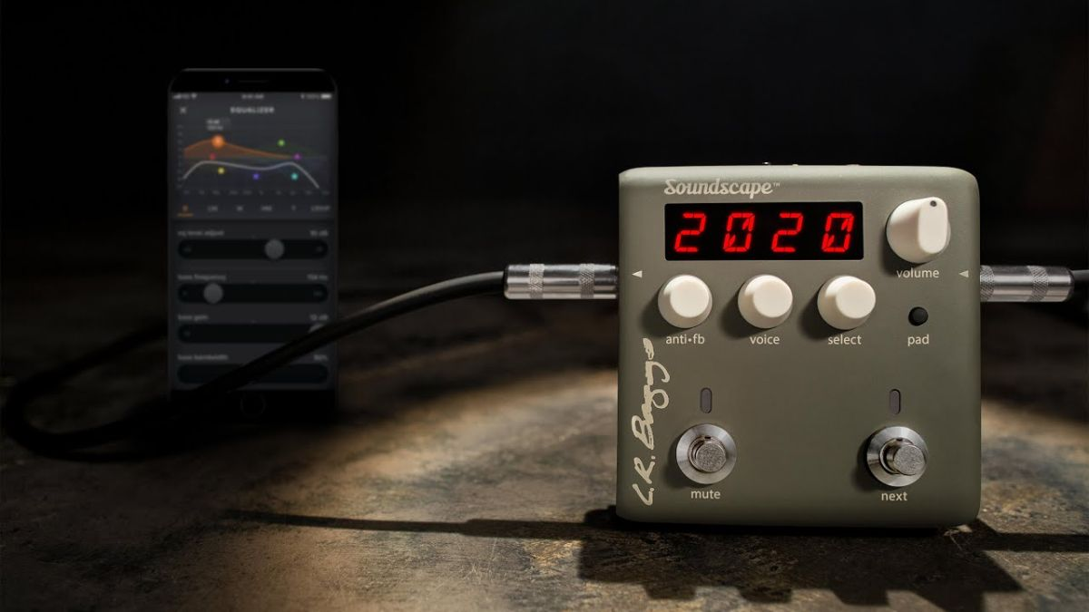 Is LR Baggs about to change the game for acoustic guitar tone with Soundscape?