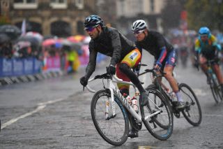 Defending world champion Alejandro Valverde (Spain) didn't enjoy his day during the wet and cold elite men's road race at the 2019 World Championships in Yorkshire