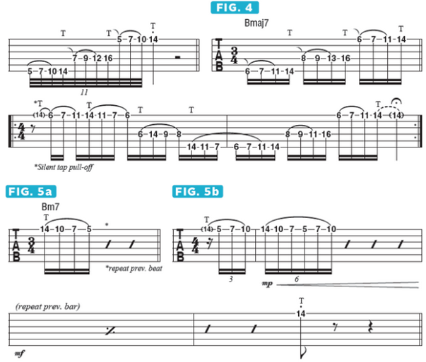 Using String Skipping To Create Multi Octave Tapped Arpeggios