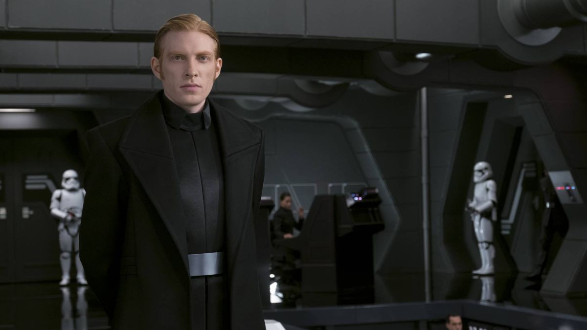 "Star Wars 9 script was ""different to what I'd thought [it would be]"" says General Hux actor Domhnall Gleeson"