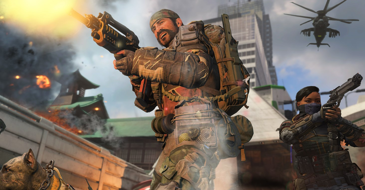 Leaked Call Of Duty Black Ops 4 Footage Shows Off The Cancelled