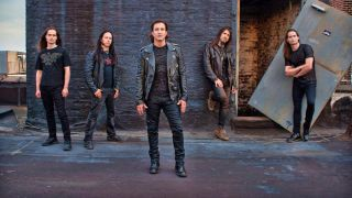 A promotional photo of Art Of Anarchy
