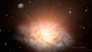 Most Luminous Galaxy in the Universe